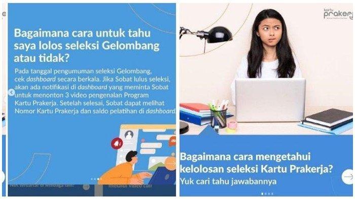 Pengumuman Kartu Prakerja Gelombang 20, Login Dashboard prakerja.go.id, Simak Caranya