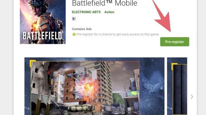 Cara daftar pre registrasi Battlefield Mobile
