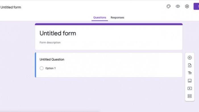 Cara Membuat Google Form di HP, Mudah untuk Bikin Kuesioner, Bisa Dibagikan dengan Link