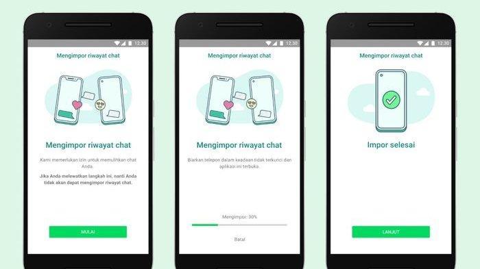 Cara transfer data WhatsApp dari iOS ke Android