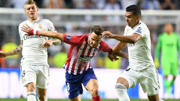 Siaran Langsung Liga Spanyol Malam Ini, Real Madrid vs Atletico Madrid, Link Streaming Bein Sports 1