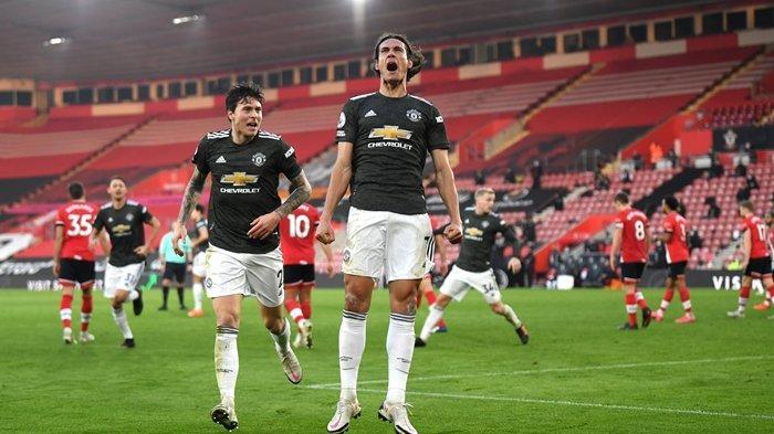 Jadi Pahlawan Kemenangan Manchester United, Edinson Cavani Terancam Hukuman Berat, Rasis di Medsos