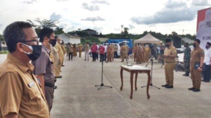 Bupati Kukar Edi Damansyah Mutasi 9 Pejabat Eselon II di Bundaran CBD Tenggarong
