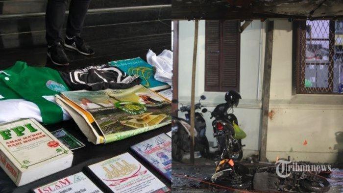 Tangkap Terduga Teroris, Buku Bergambar Habib Rizieq, Baju Bertuliskan FPI Hingga 5 Bom Aktif Disita