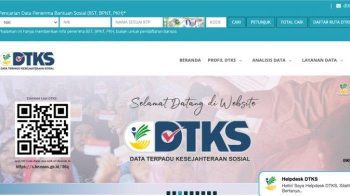 Cek Penerima BST Rp 300 Ribu di dtks.kemensos.go.id Cair hingga April 2021, Ada Juga Program Sembako