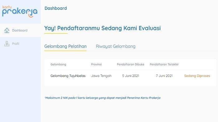 Pengumuman Prakerja Gelombang 17 Cek di www.prakerja.go.id, Pastikan Nomor Hp yang Didaftar Aktif