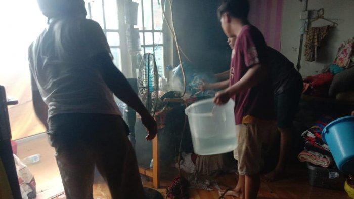 Tabung LPG Bocor, Usaha Laundry di Sangatta Kutai Timur Nyaris Terbakar