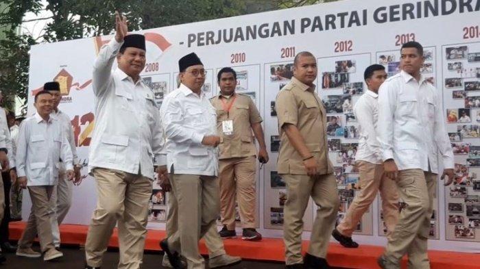 Cerita Prabowo di Ultah Gerindra dari Alasan tak Undang Jokowi hingga Ditertawakan saat Bikin Partai