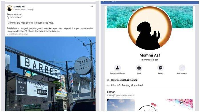 Setelah Layangan Putus Viral, Mommi Asf Rilis Cerita Baru di Facebook: Pertolongan Allah Itu Nyata
