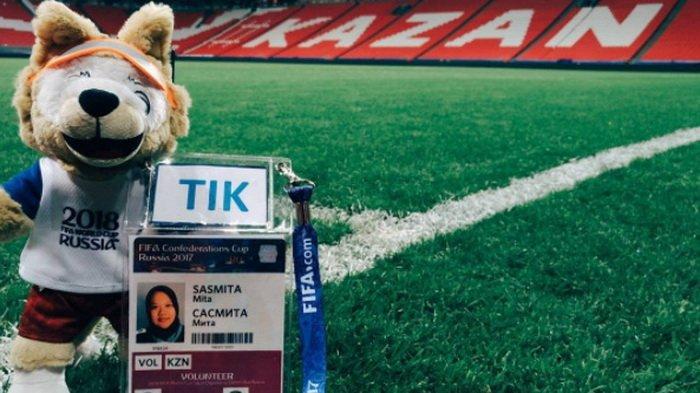Perjuangan Panjang Cewek Indonesia Direkrut jadi Volunteer Turnamen FIFA di Rusia
