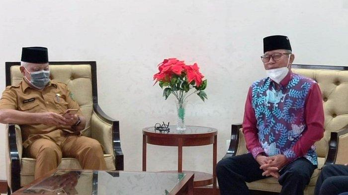 Silaturahmi dengan Plt Bupati Chairil, Kesultanan Kutai Nyatakan Siap Dilibatkan Membentuk IKN