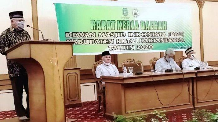 Rakerda DMI Kukar, Chairil Anwar: Wujudkan Masjid Pusat Ibadah dan Pemberdayaan Umat