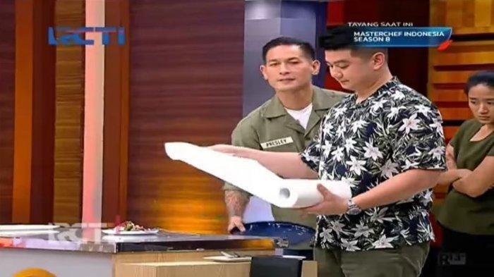 Ngamuk, Chef Juna Lempar Piring, Seto Punguti Pecahan Piring, Konstestan MasterChef Indonesia 8 Syok