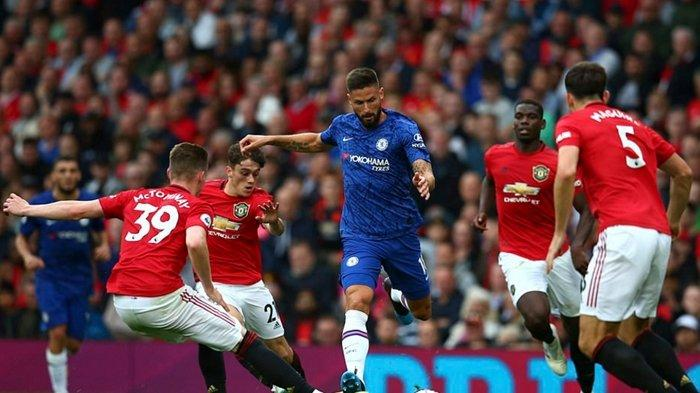 Link Live Streaming Liga Inggris Everton vs Crystal Palace dan Chelsea vs Man United di Mola TV