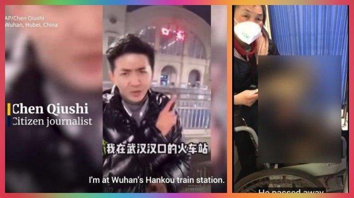 Merekam Tumpukan Mayat Korban Virus Corona di Wuhan, Jurnalis China Hilang, Diduga Diculik Aparat