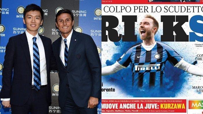 Christian Eriksen Jadi Kado Imlek Presiden Inter Milan Steven Zhang, Berikut Detailnya
