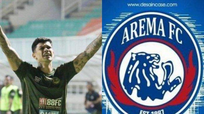 Gagal di Piala Menpora, Arema FC Bidik Striker Liga 1 Incaran Persib, Singo Edan Depak Pemain Asing