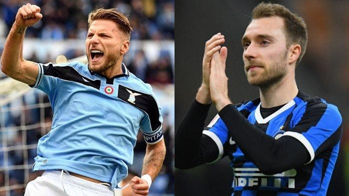Prediksi Big Match Liga Italia Lazio vs Inter Milan, Christian Eriksen Dampingi Duet Lukaku-Lautaro