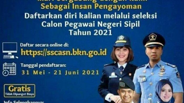 LOGIN sscasn.bkn.go.id, Pendaftaran CPNS 2021 Segera Dibuka untuk 1.275.387 Formasi CPNS dan PPPK
