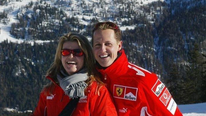 Corrina dan Michael Schumacher.