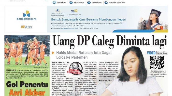 Caleg tak Lolos ke Parlemen Minta Kembali Uang DP,  Kaget Pemilih Beralih Jelang Pencoblosan