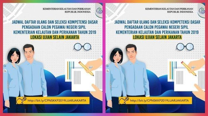 CPNS 2019 Jadwal Daftar Ulang, Lokasi Tes SKD Kementerian Kelautan & Perikanan di Seluruh Indonesia