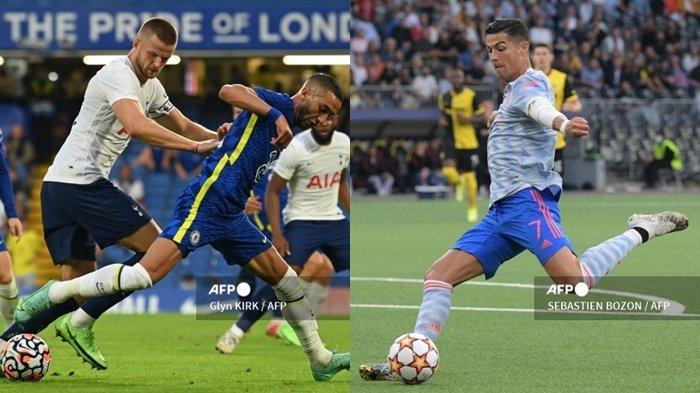 Live SCTV, Jadwal Liga Inggris Pekan ke-5: Spurs vs Chelsea, West Ham Tak Gentar Hadapi Ronaldo Cs