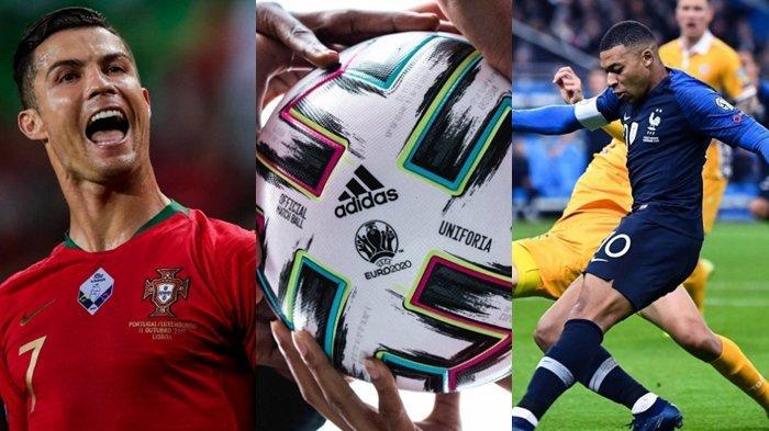 Cristiano Ronaldo hingga Kylian Mbappe Bakal Pakai Bola Adidas Uniforia di Euro 2020, Ini Maknanya
