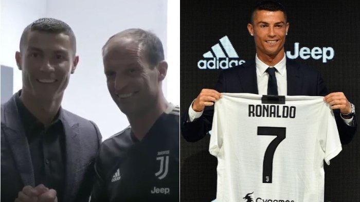 Cristiano Ronaldo dan Max Allegri