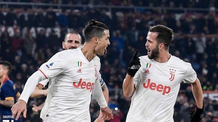 Menang Lawan AS Roma, Juventus Geser Inter Milan di Puncak Klasemen Liga Italia