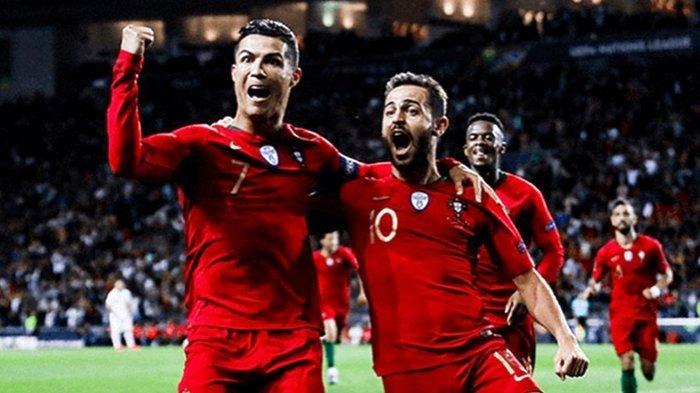 Jadwal Kualifikasi EURO 2020, Ukraina vs Portugal Menanti Aksi Cristiano Ronaldo Berburu Rekor Gol