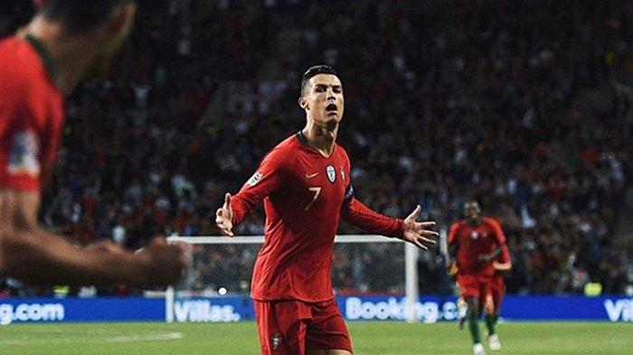 TERPOPULER Final UEFA Nations League Portugal vs Belanda, Misi Ronaldo Tembus Tembok Virgil van Dijk