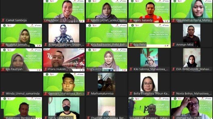 Gelar Webinar Berbasis Pemberdayaan Masyarakat Bersama FKIP Unmul, PHM Beberkan Inovasi Pertakultur