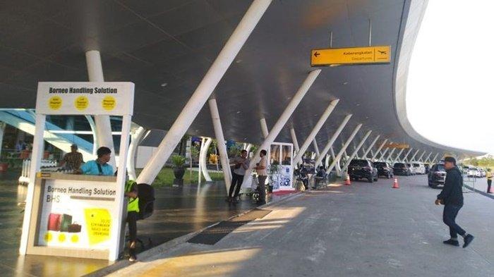 Cuaca Buruk, Visibility di Bandara APT Pranoto Minim, Garuda Indonesia Dialihkan ke Balikpapan