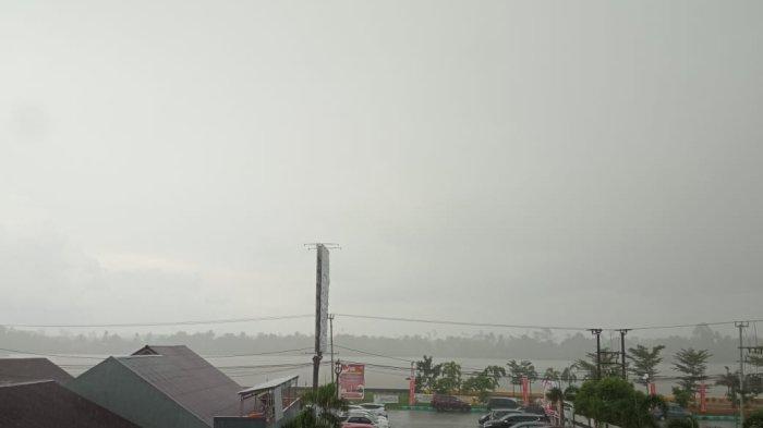 Dampak Bibit Siklon Tropis, BMKG Prediksi Cuaca Esktrem akan Terjadi di Kalimantan Utara