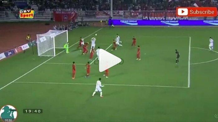 CUPLIKAN GOL 0-1 Timnas U23 Indonesia vs Vietnam, Evan Dimas Cedera Malapetaka Garuda Muda