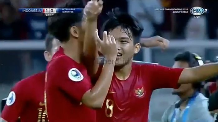 CUPLIKAN GOL Timnas U19 Indonesia vs UEA (1-0), Witan Sulaiman tak Terbendung!