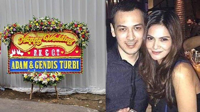 Cut Tari - Richard Kevin Menikah di Tanggal 12.12, Karangan Bunga Hiasi Rumah, Begini Situasi Lokasi