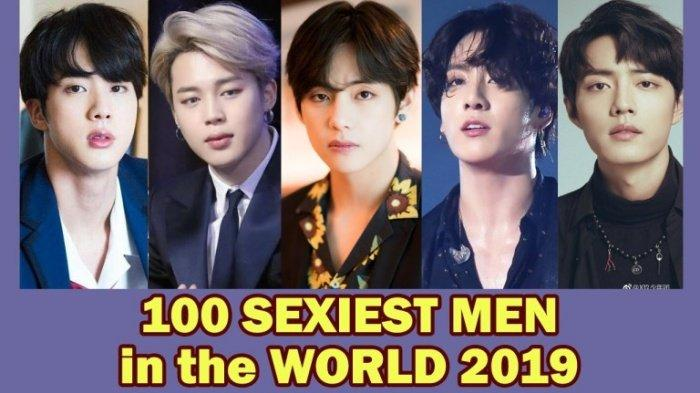 Member BTS Mendominasi, V BTS Nomor 1 Daftar 100 Pria Terseksi 2019, Ada Lee Seung Gi Aktor Vagabond