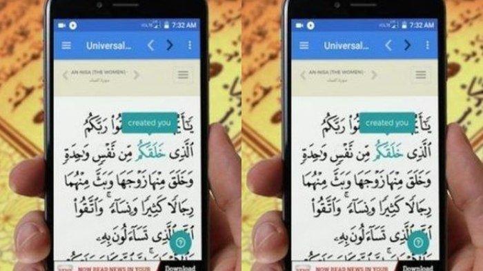 Lengkap, Daftar Aplikasi Quran, Cocok untuk Tadarus Al Quran di Ramadhan, Ada Tafsir & Jadwal Sholat