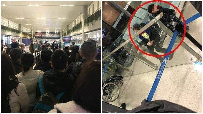 Karena Diduga Terinfeksi Virus Corona, Pasangan Suami Istri harus Tinggalkan Anaknya di Bandara