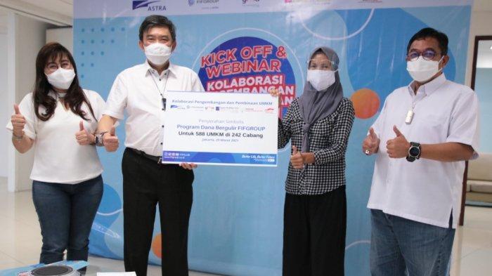 FIF Group Fokus Pengembangan UMKM Lewat Program Dana Bergulir