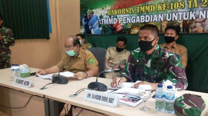 Dukung TMMD ke-108, Pemkab Kutai Timur Alokasikan Rp 2,5 Miliar