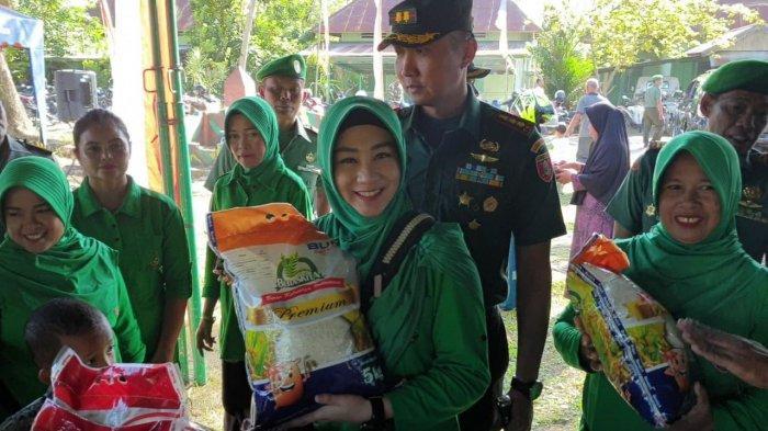 Pasar Murah HUT Kodam VI Mulawarman, Dandim 0904/Tng Berikan Subsidi Rp 2.000 untuk Semua Barang