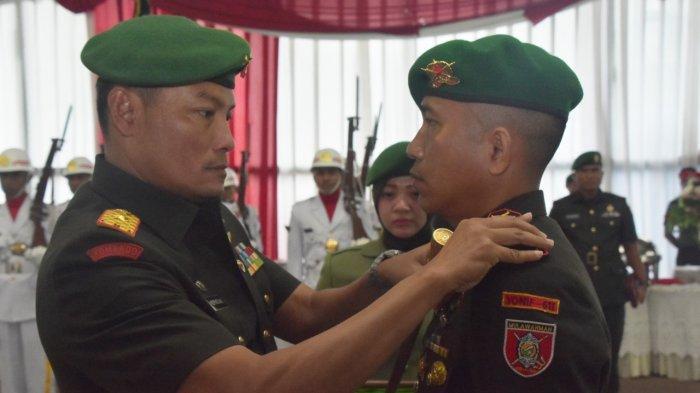 Danrem 091/ASN Brigjen TNI Widi Prasetijono Serahkan Jabatan Danyonif 611/Awang Long