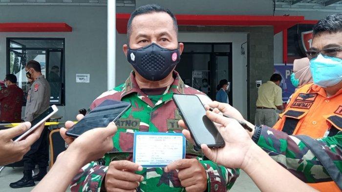 Jadi Orang Pertama Disuntik Vaksin Sinovac di Kaltara, Brigjen TNI Suratno Imbau Warga tak Takut