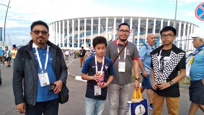 Zulfan Rela Nonton Piala Dunia ke Rusia demi Cucu