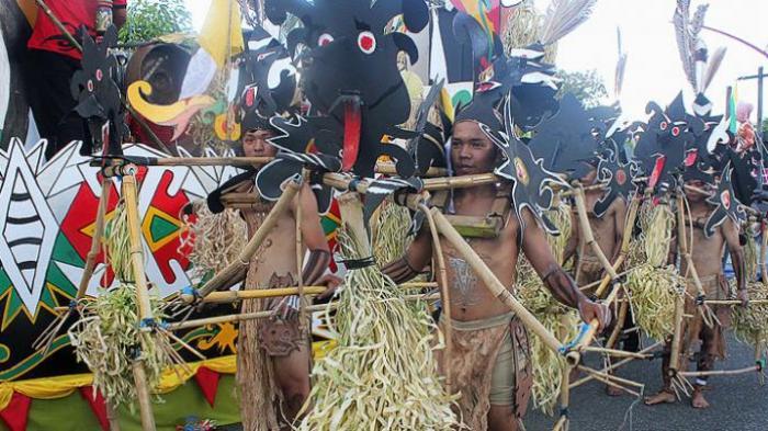 Wisata Budaya Isen Mulang Tunjukkan Semangat Hidup Suku Dayak