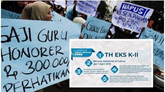 DPR dan Kemenpan Sudah Sepakat,Tenaga Honorer Se-Indonesia Akan Dihapuskan, Nasib K2Disorot