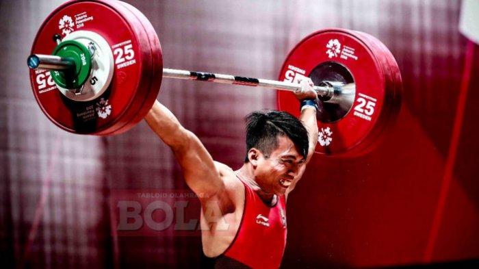 Lifter Korea Berjaya, Triyatno dan Deni Gagal Raih Medali Angkat Besi 69 Kg Putra